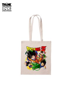 "Tote Bag Dragon Ball ""Los Guerreros"""