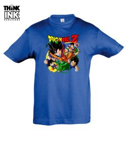"Camiseta Dragon Ball ""Los Guerreros"""