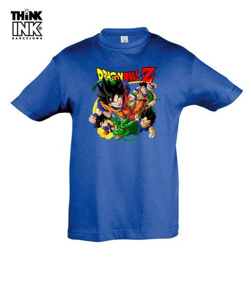 """Camiseta Dragon Ball """"Los Guerreros"""""""