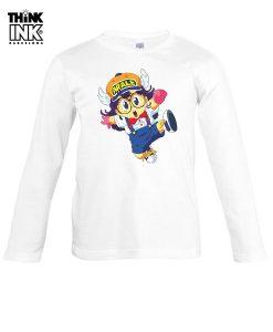 Camiseta manga Larga Arale saltando