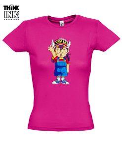 Camiseta manga corta Arale