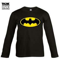 Camiseta manga Larga Logo Batman