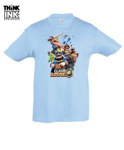 Camiseta manga corta Clash Royale Clasicos