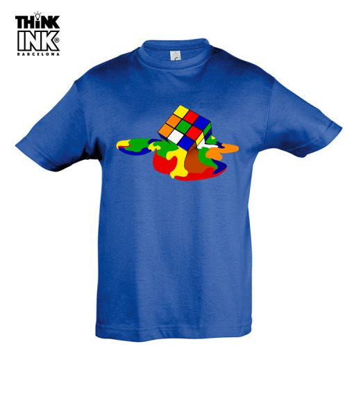 Camiseta manga corta Cubo de Rubik