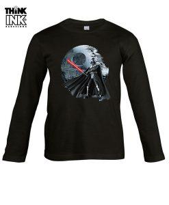 Camiseta manga Larga Darth Vader