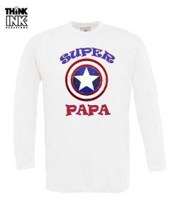 Camiseta manga larga para el dia del padre