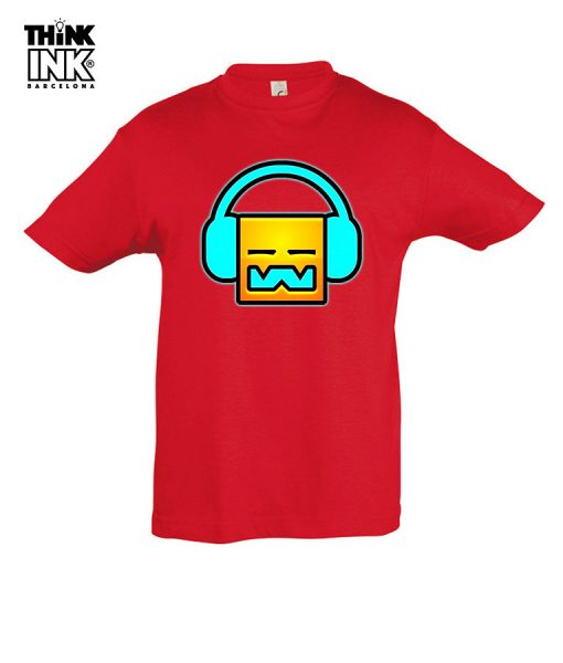 Camiseta manga corta Geometry Dash