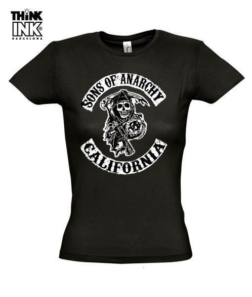Camiseta manga corta Sons Of Anarchy