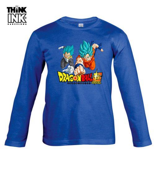 Camiseta manga Larga Dragon Ball Super