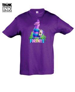Camiseta manga corta Fortnite Llama