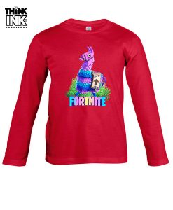 Camiseta manga Larga Fortnite Llama