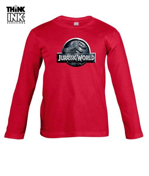 Camiseta manga Larga Jurassic World