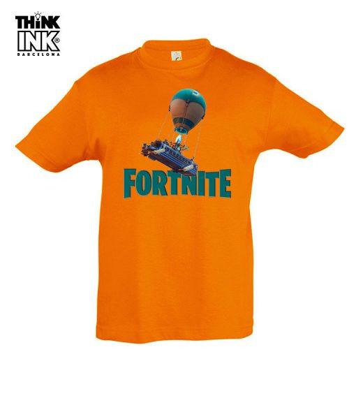 Camiseta manga corta Fortnite Globo