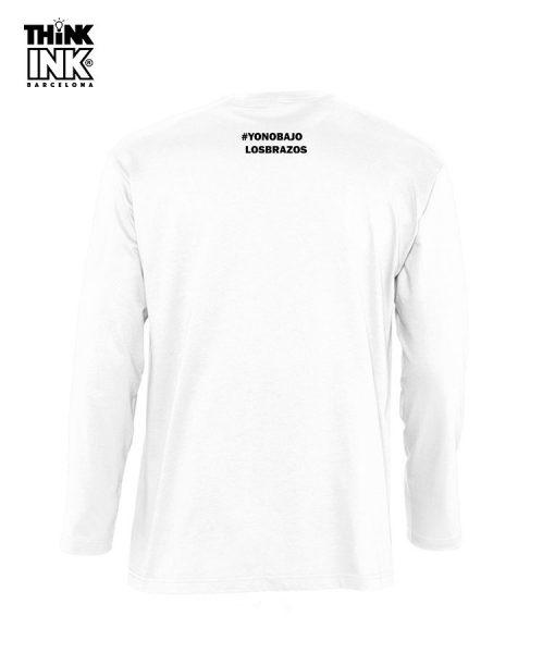 Camiseta manga larga Siempre luchando