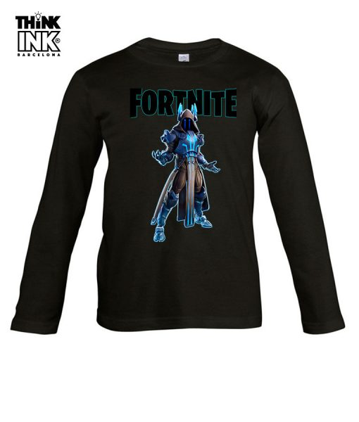 Camiseta manga Larga Fortnite Rey Helado