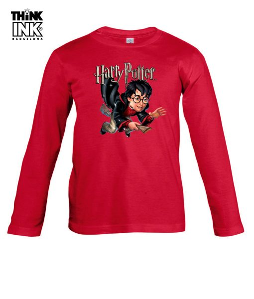 Camiseta manga Larga Harry Potter