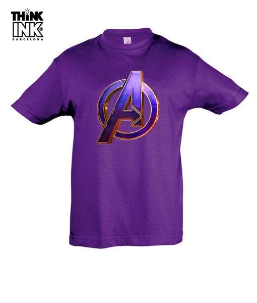 Camiseta manga corta Endgame Vengadores