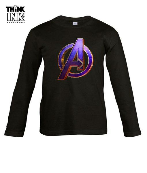Camiseta manga Larga Endgame Vengadores