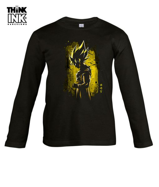 Camiseta manga Larga Dragon Ball