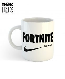 Taza Fortnite logo Nike
