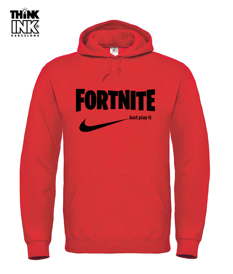nuevo estilo de mayor selección marca popular Sudadera Fortnite logo Nike Unisex