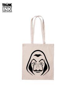 """Tote Bag La casa de papel """"Mascara"""""""