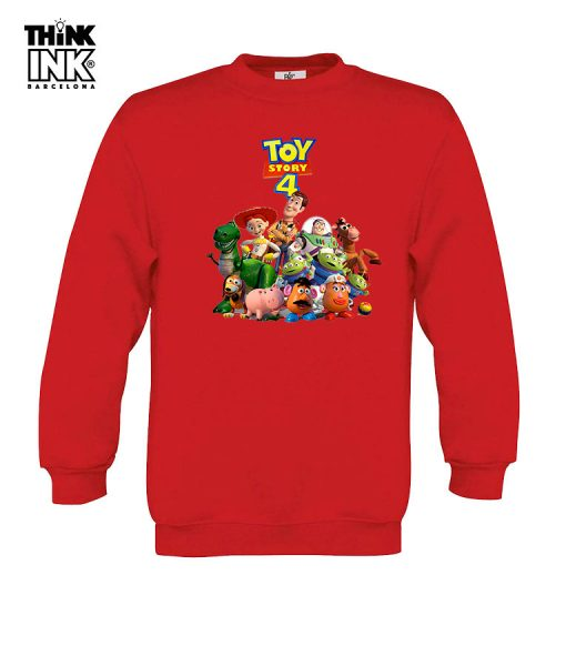 Sudadera Toy Story 4 Grupo