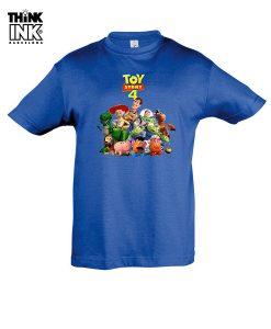 Camiseta manga corta Toy Story 4 Grupo