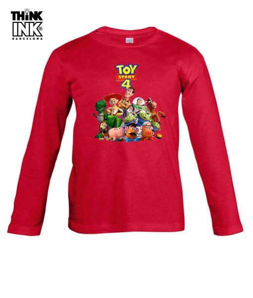Camiseta Toy Story 4 Grupo