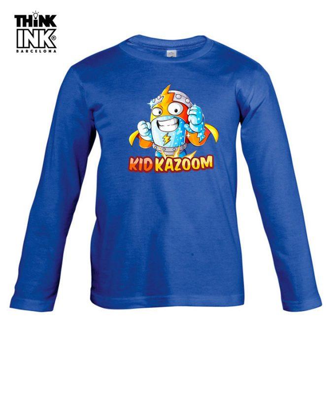 Camisetas manga larga para niño
