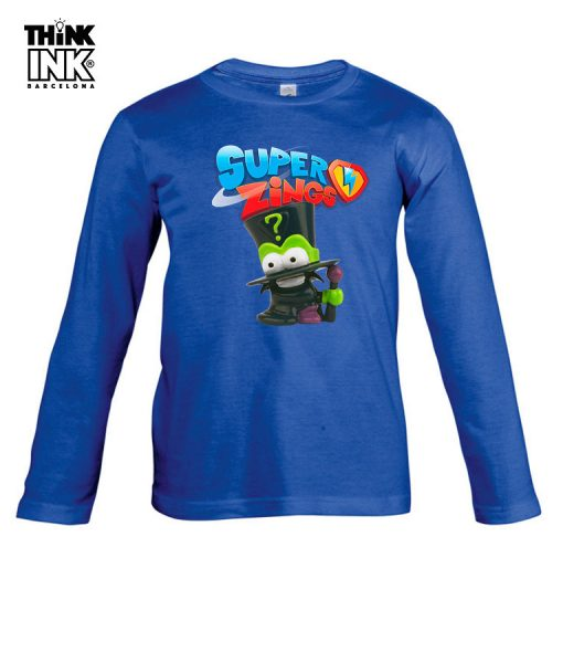 Camiseta Superzings Enigma personalizada