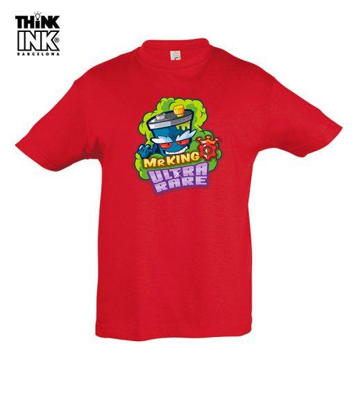 Camiseta Superzings Mr.King personalizada