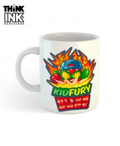 Taza Superzings Kid Fury personalizada