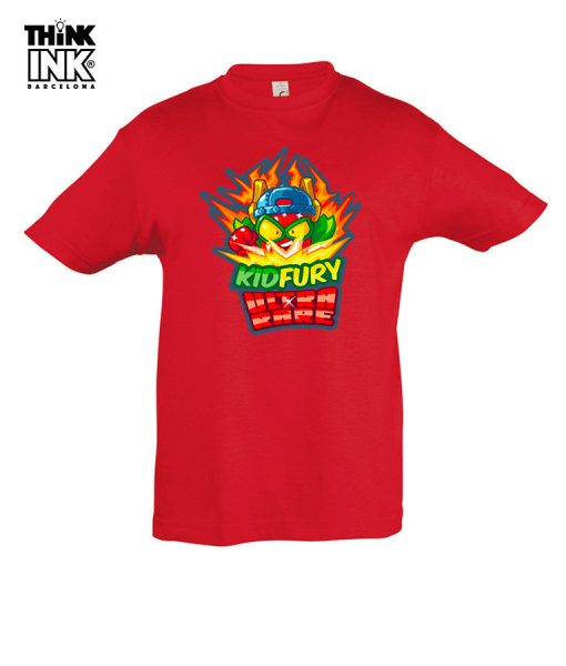 Camiseta manga corta Superzings Kid Fury