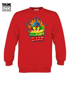 Sudadera Superzings Kid Fury niño personalizada