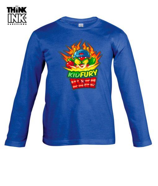 Camiseta manga Larga Superzings Kid Fury