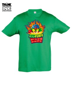 Camiseta manga corta Superzings Kid Fury personalizada