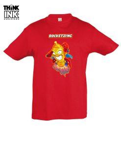 Camiseta manga corta Superzings Rocketzing personalizada