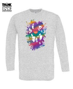 Camiseta manga larga The Beatles