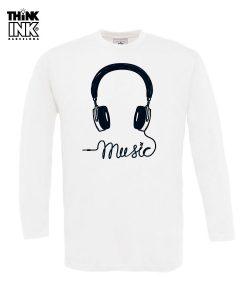 Camiseta Día de la radio para Hombre manga larga personalizada