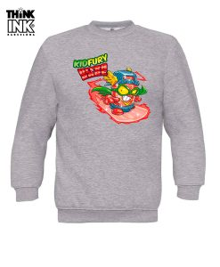 Sudadera Superzings Kid Fury surfeando