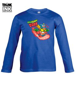 Camiseta Superzings Kid Fury surfeando