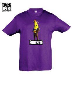 Camiseta manga corta Fortnite Agente Banano