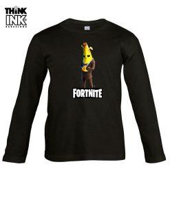 Camiseta manga Larga Fortnite Agente Banano
