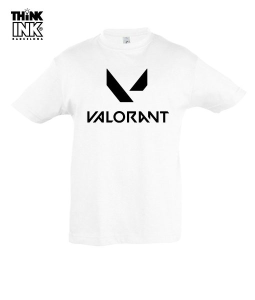 Camiseta manga corta Valorant Logo