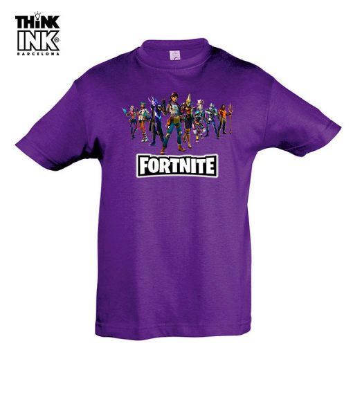 Camiseta manga corta Fortnite capitulo 3
