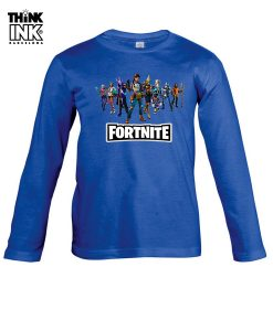 Camiseta manga Larga Fortnite capitulo 3