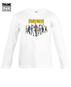 Camiseta manga Larga Fortnite 2 capitulo 2