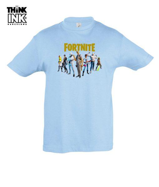 Camiseta manga corta Fortnite 2 capitulo 2