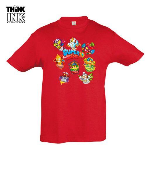Camiseta manga corta Superzings Grupo